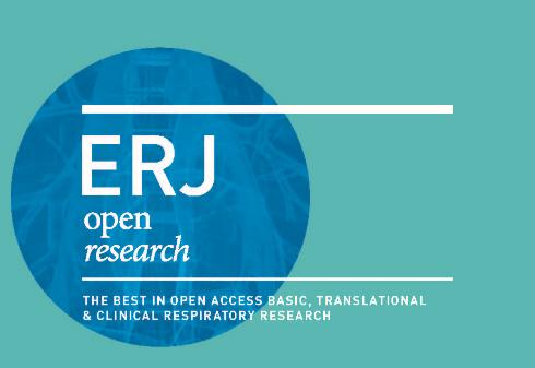 ERJ Open Research - Publication Preview Image