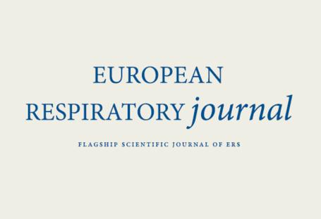 European Respiratory Journal - Publication Preview Image