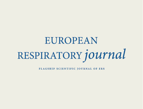 European Respiratory Journal - Publication Preview Image