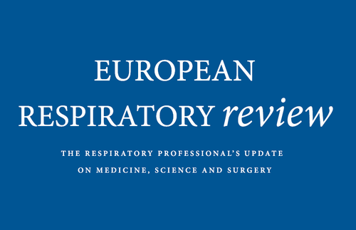 European Respiratory Review - Publication Preview Image