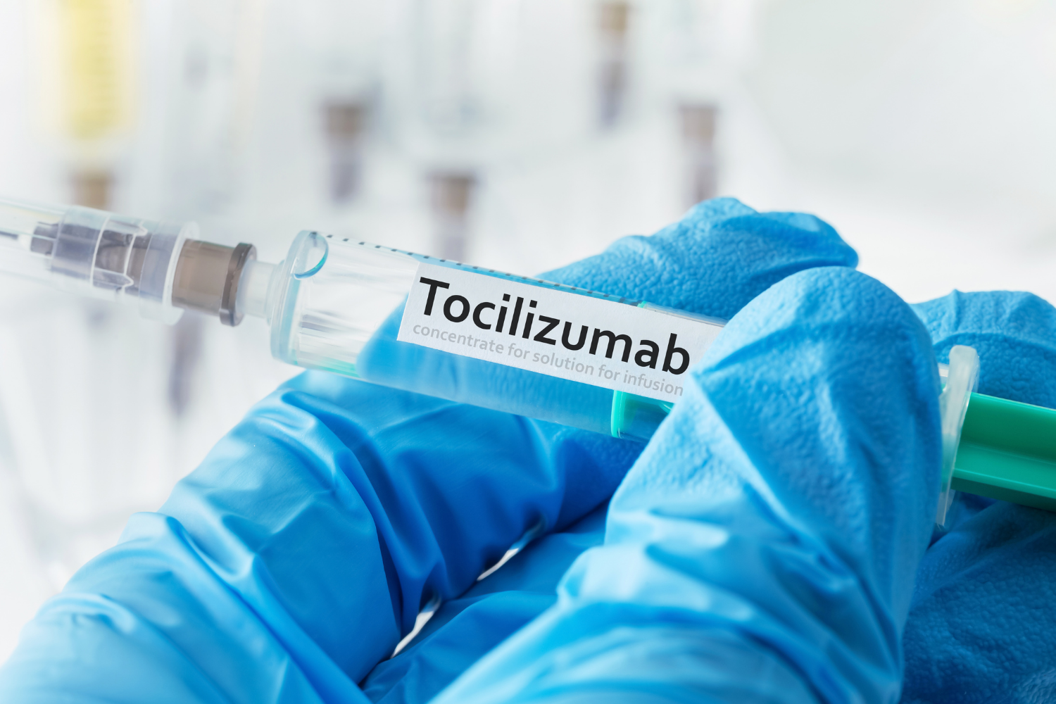 Discussing the use of tocilizumab in treating COVID-19 - preview image